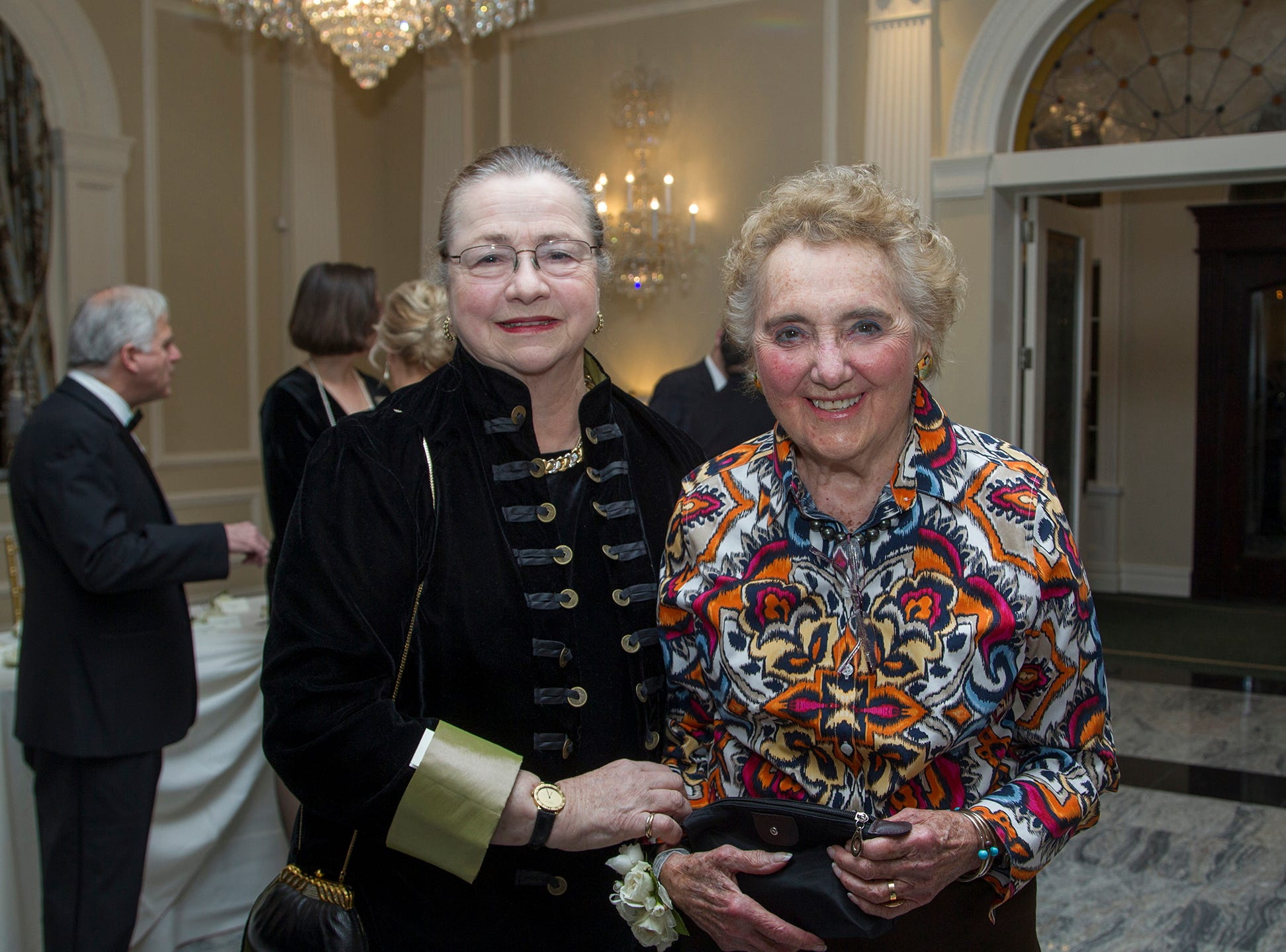 Rosalie Berlin and Elaine Adler. Ramapo College held its 37th Annual Distinguished Citizens Dinner at Rockleigh Country Club. 03/02/2019