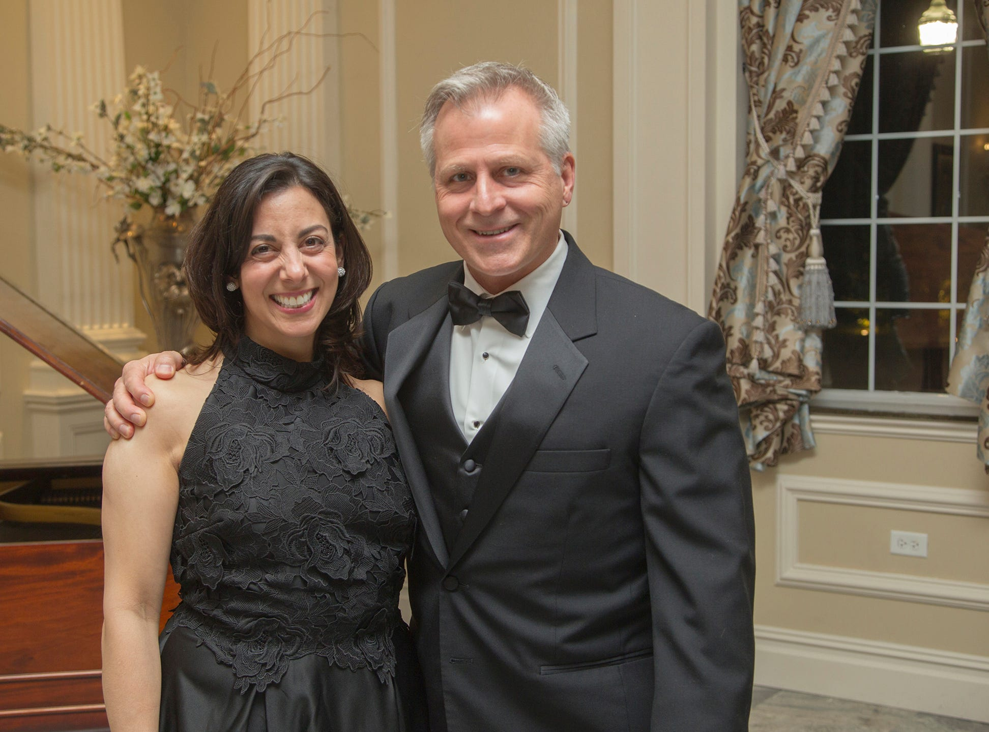 Linda Kavan, Ed Petkus. Ramapo College held its 37th Annual Distinguished Citizens Dinner at Rockleigh Country Club. 03/02/2019