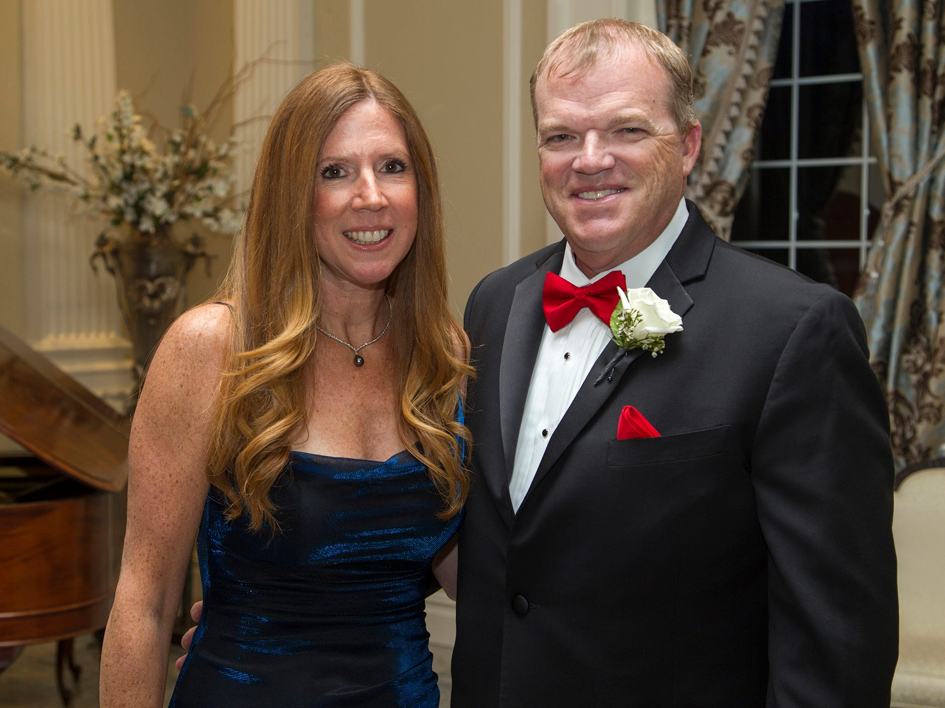 Kelly and Frank Conway. Ramapo College held its 37th Annual Distinguished Citizens Dinner at Rockleigh Country Club. 03/02/2019