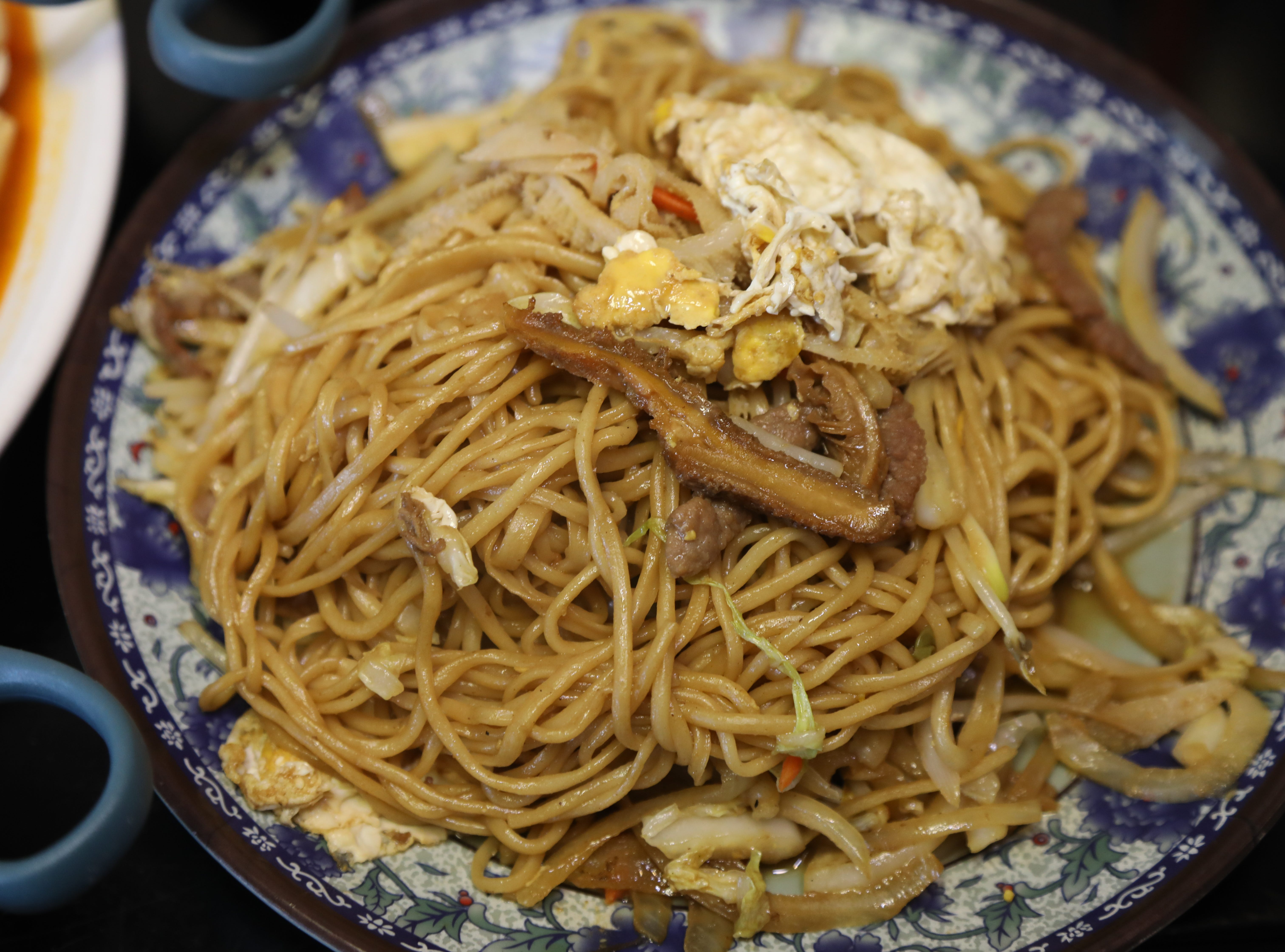 The House Special Noodle made with beef and beef tripe selection of dishes from Shan Shan Noodles.