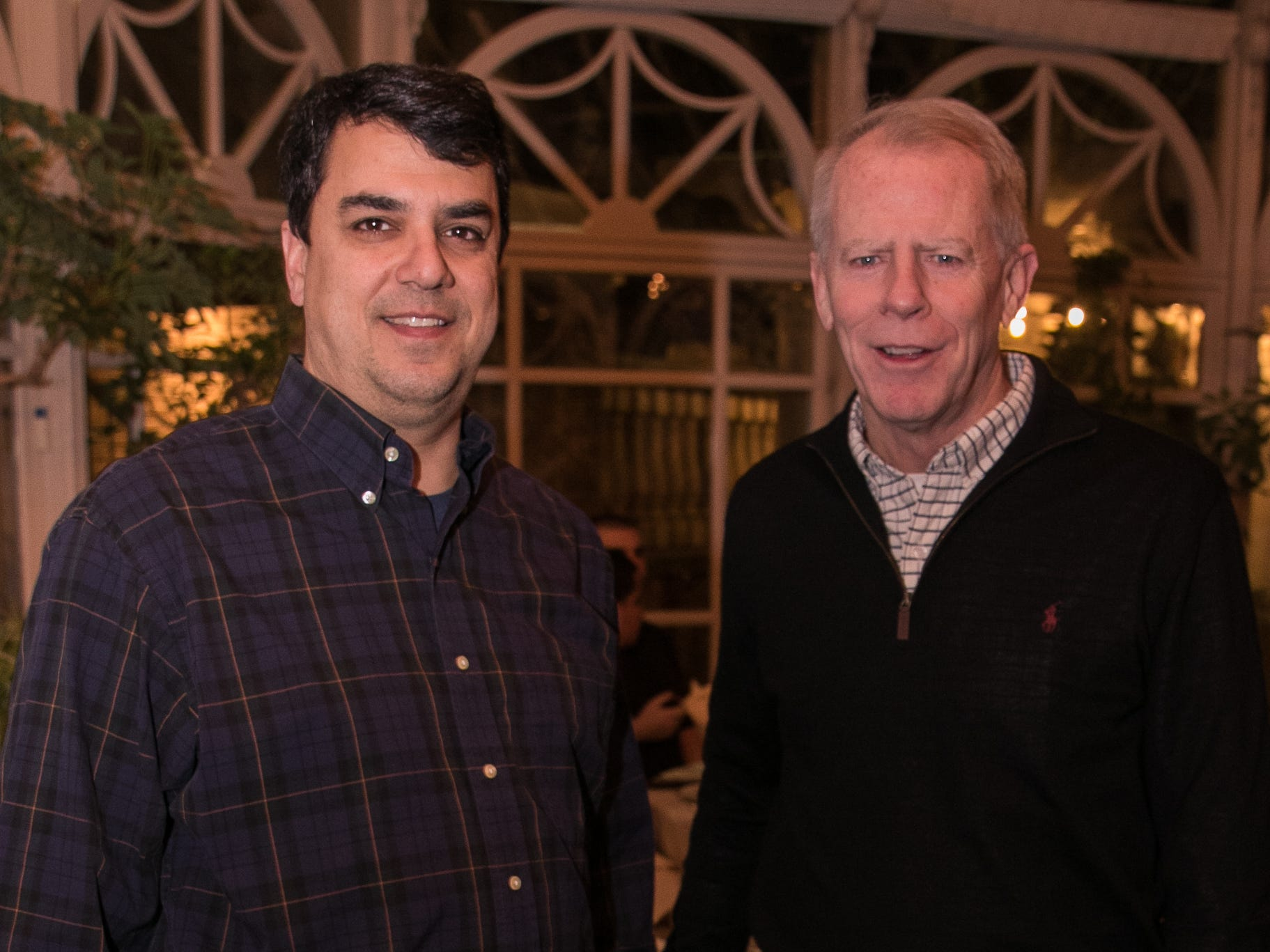 Paul Gagano, Kevin Cochran. Rebuilding Together North Jersey held its third annual Beefsteak Dinner with former NY Giants Howard Cross, Amani Toomer, and Sam Garnes at the Brownstone in Paterson. 03/07/2019