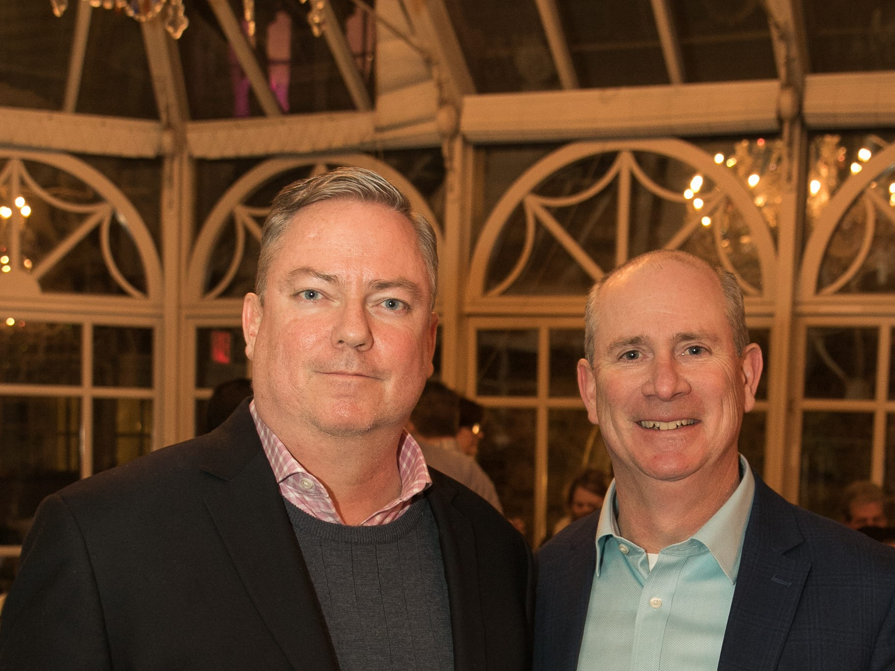 Brendan Buckley, John Olert. Rebuilding Together North Jersey held its third annual Beefsteak Dinner with former NY Giants Howard Cross, Amani Toomer, and Sam Garnes at the Brownstone in Paterson. 03/07/2019