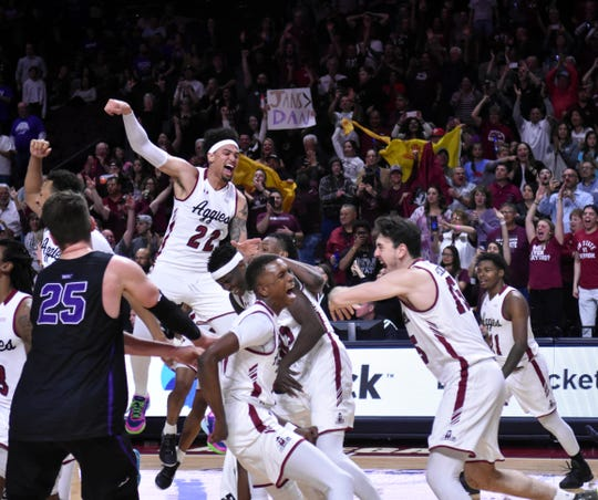 New Mexico State won its third straight WAC Tournament championship.