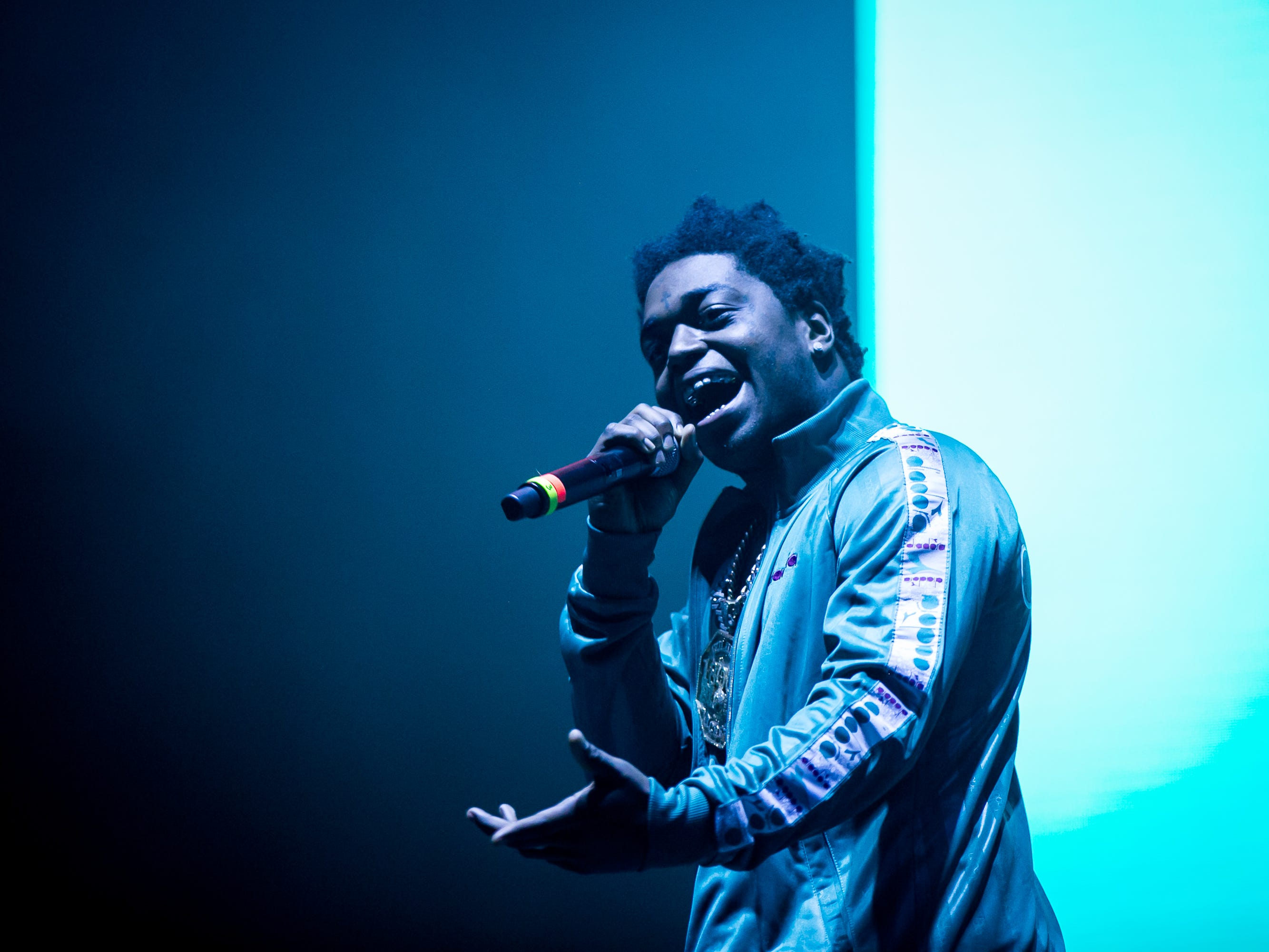 Kodak Black performed at Pot of Gold Music Festival at Steele Indian School Park on Saturday, March 16, 2019.