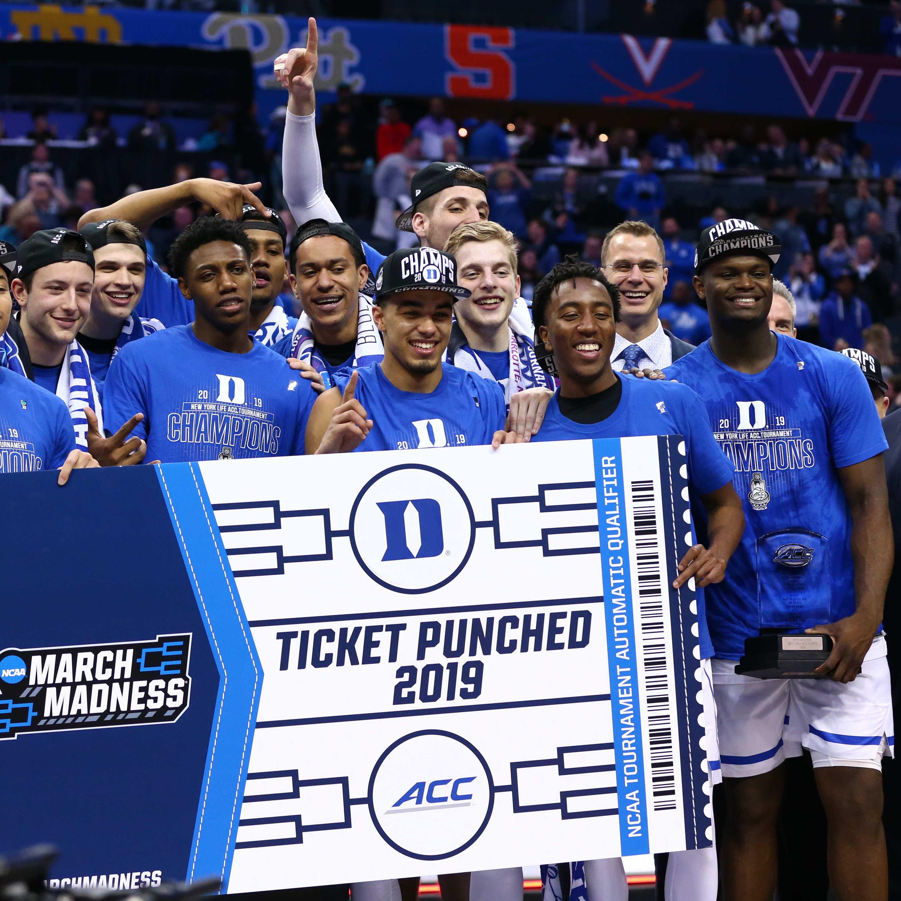 Download the 2019 NCAA basketball tournament bracket
