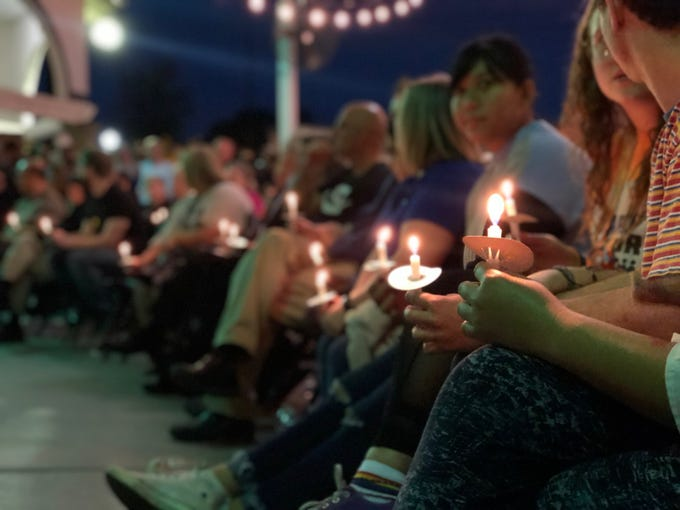 Dozens of people attended a candlelight vigil Saturday evening at the Islamic Community Center of Tempe to remember victims of the New Zealand terror attack. The event was hosted by the Islamic center and Arizona Muslim Alliance.