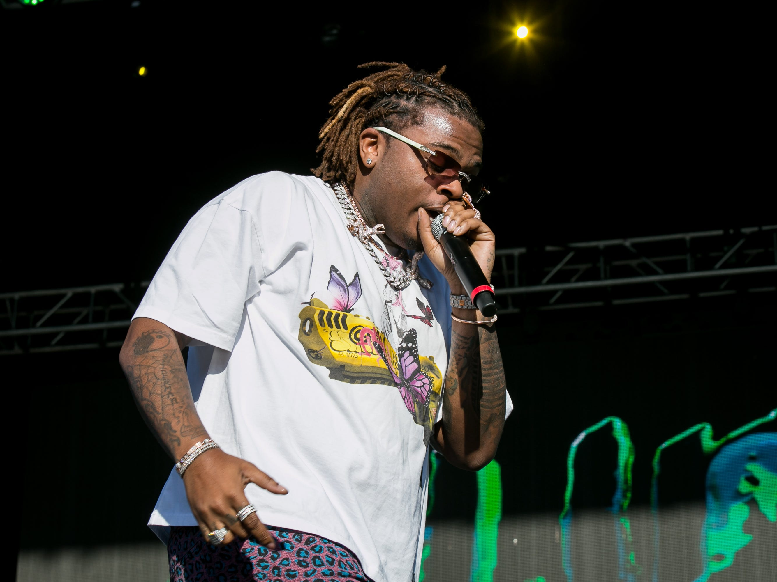 Gunna performed at Pot of Gold Music Festival at Steele Indian School Park on Saturday, March 16, 2019.