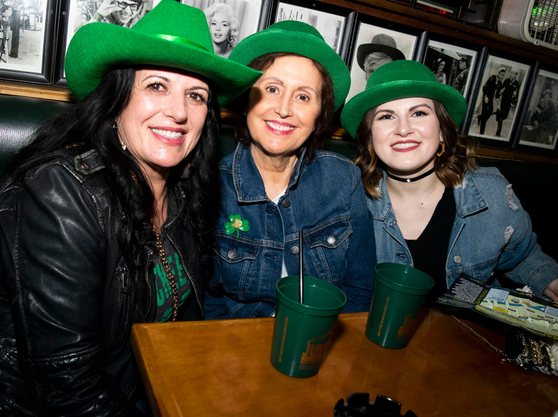 Lisa, Odette, and Devin attend the 2019 Leprechaun Crawl on Saturday, March 16, 2019. Reno, Nev.