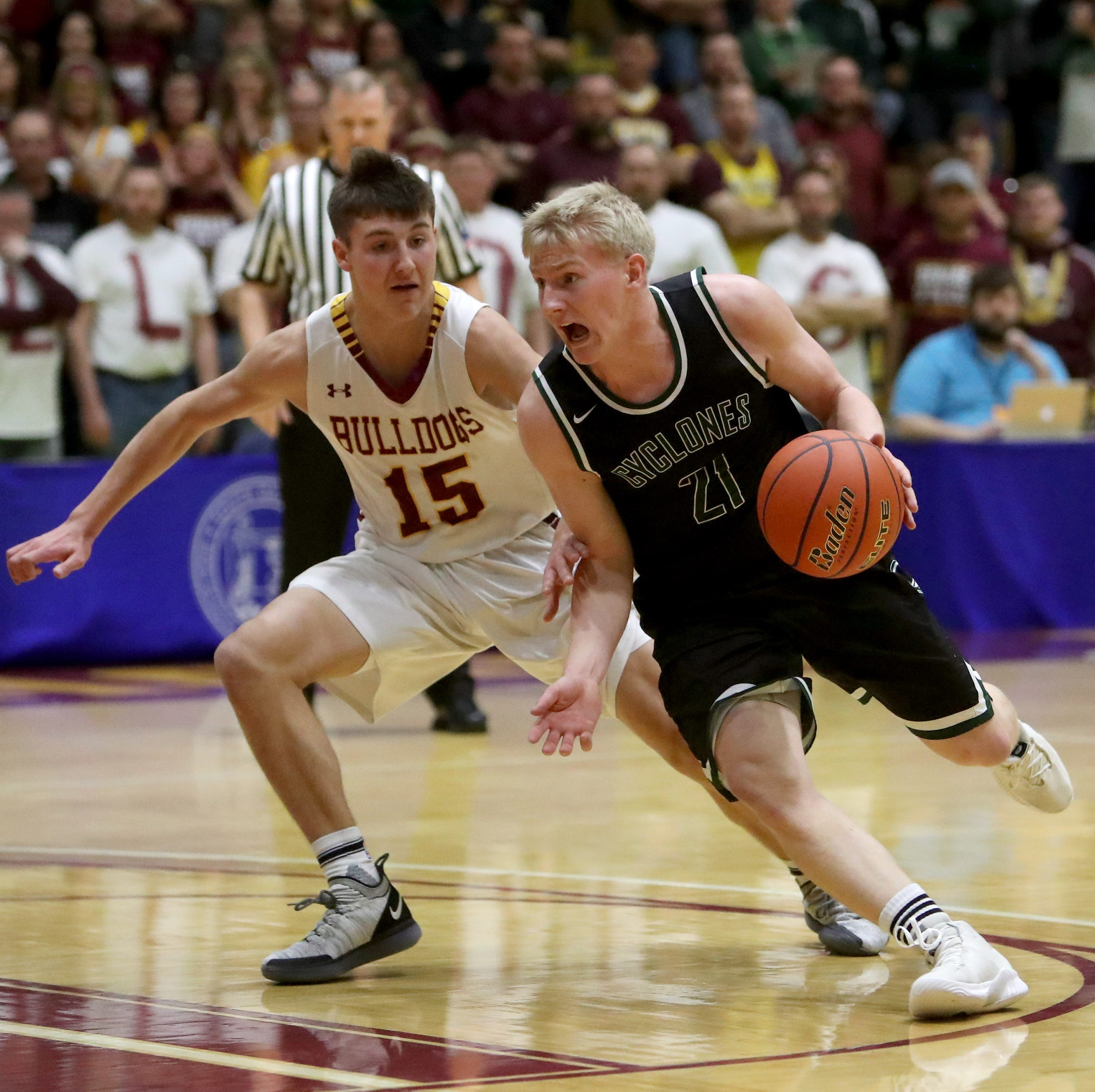 Jacob Prouty scores 35 points to lead Clark/Willow Lake to Class B title
