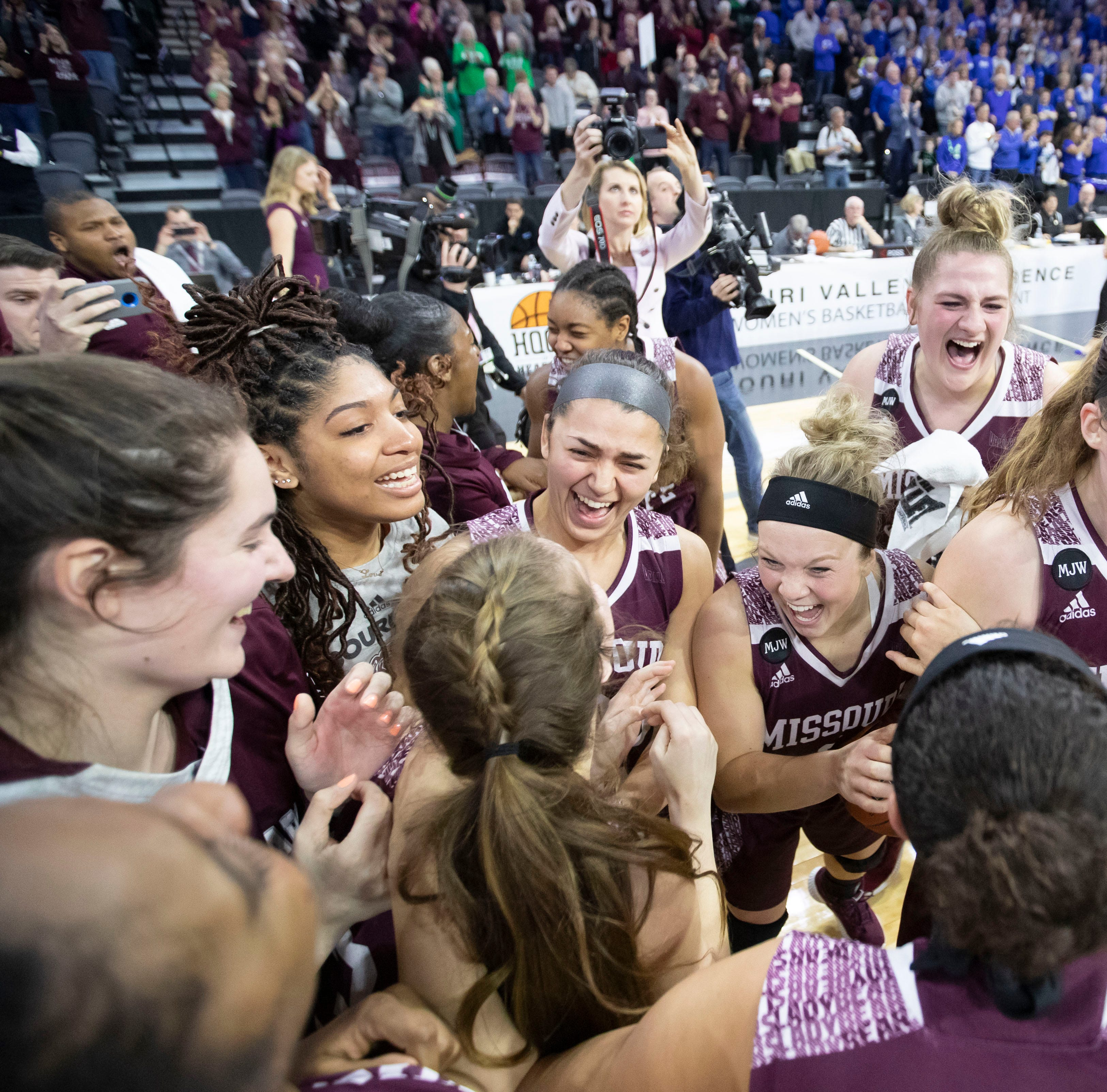 Going dancing! Lady Bears win MVC Tournament title, claim NCAA Tournament bid