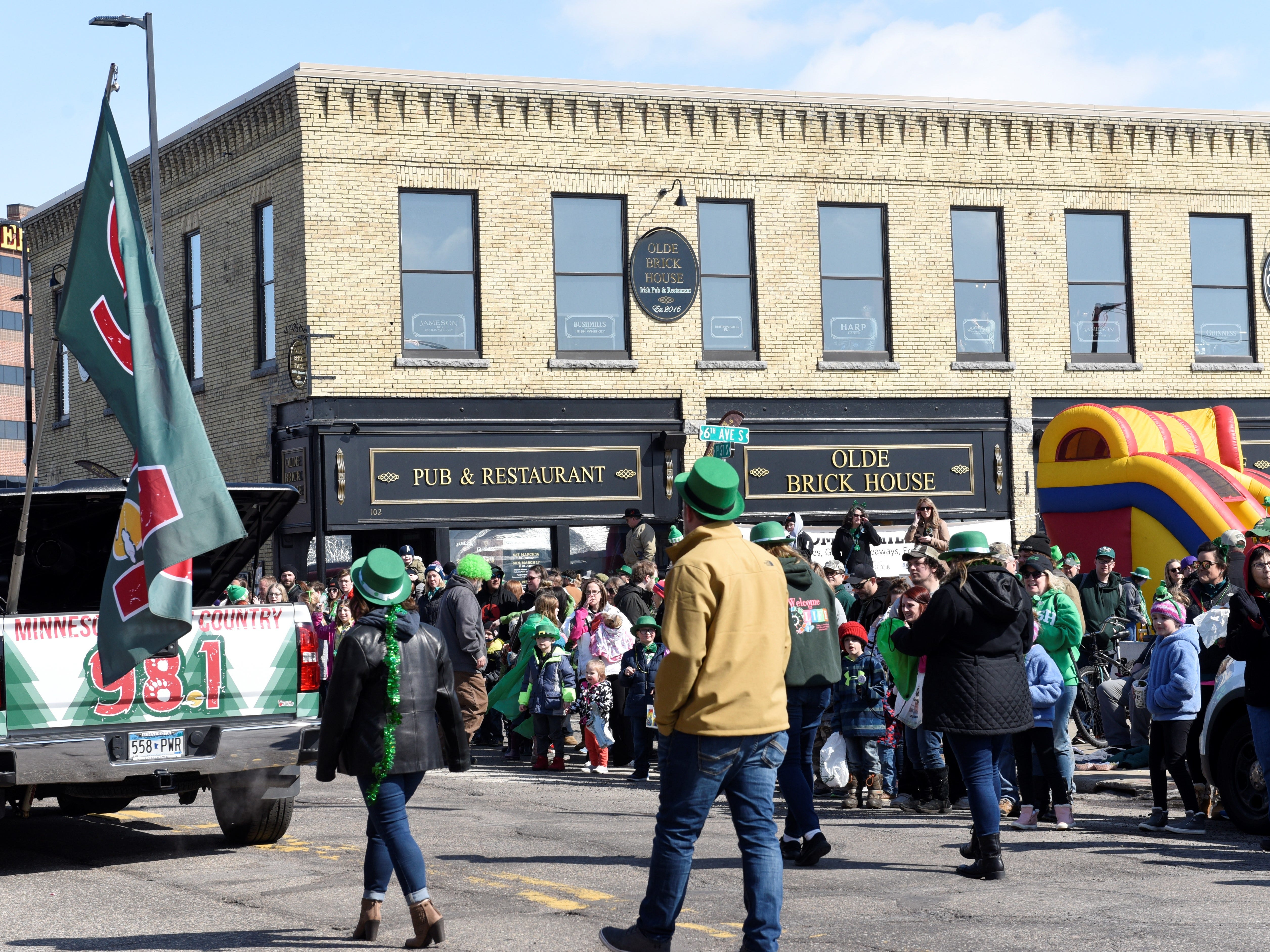 St. Cloud St. Patrick's Day parade put on by Olde Brick House, March 17, 2019.