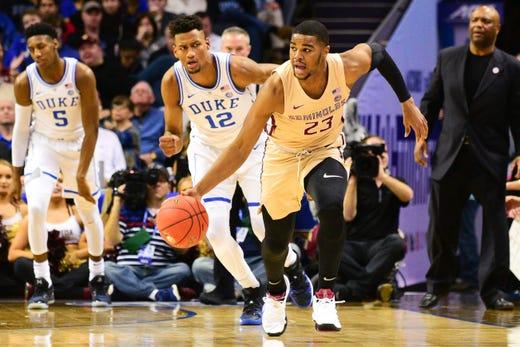 8e7c75f622a Florida State celebrates third consecutive NCAA Tournament berth at Madison  Social