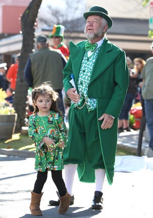 File photo. Visalia's St. Patrick's Day Parade scheduled for Saturday was canceled in response to the novel coronavirus pandemic.