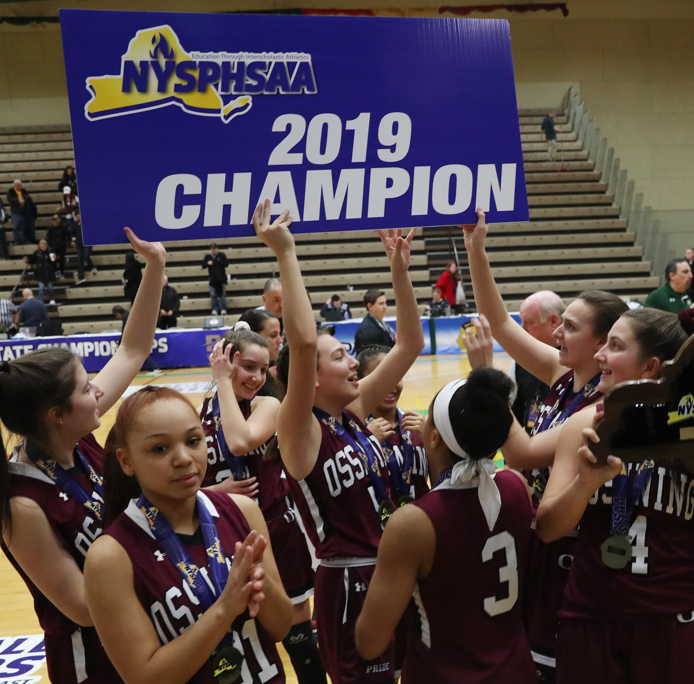 Girls basketball: Ossining dominates West Genesee for Class AA state championship