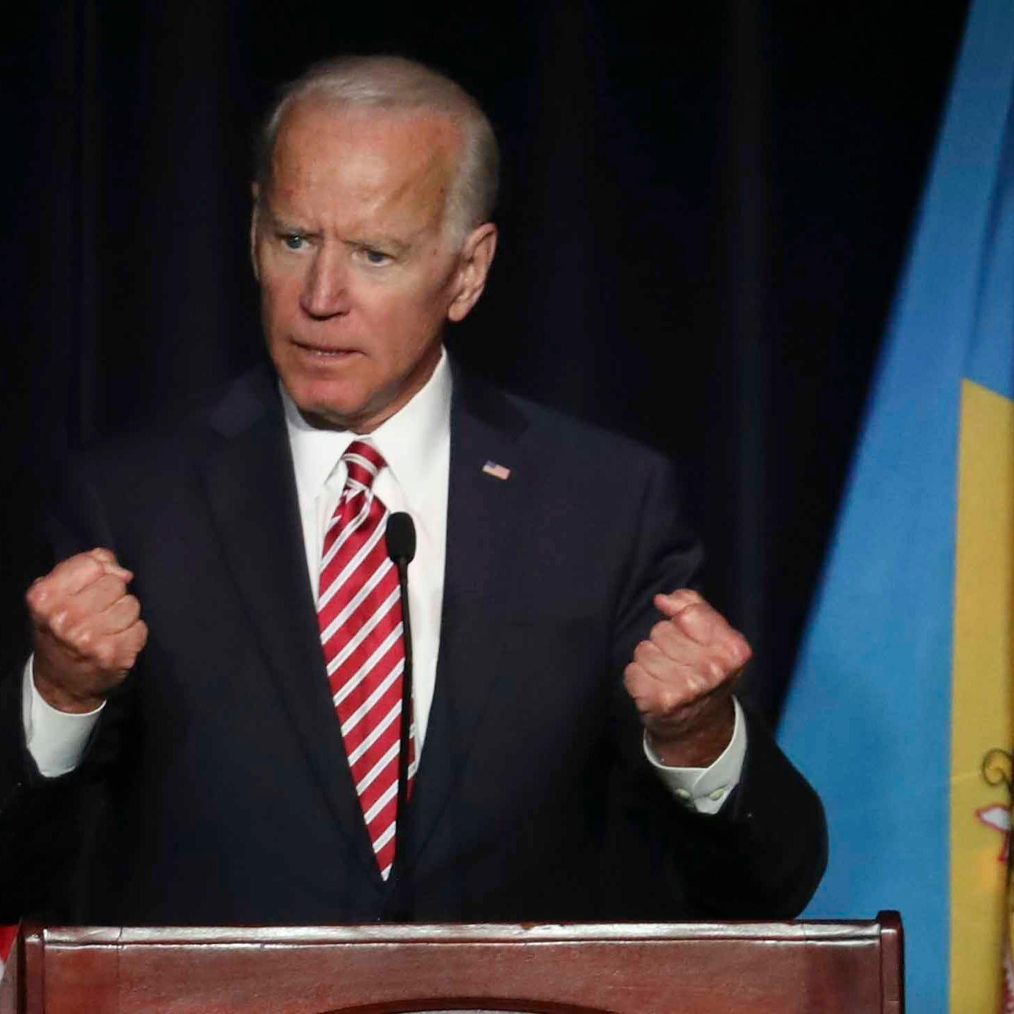 Joe Biden almost announces presidential candidacy, says he has 'most progressive record'