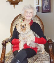 """Carolyn Bassham, of Bowie, Texas, was faced with a diagnosis of macular degeneration in 2011, and while the deterioration has been slow, in recent years she has lost the center vision in her left eye and is having more issues with her right. Her battle has been featured in a film that's part of the """"Xplained"""" series"""