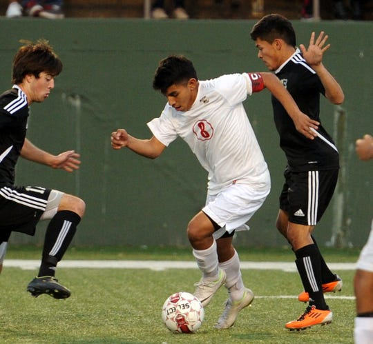 Wichita Falls High School's Daniel Tays scored twice in the final 10 minutes five years ago against Rider.
