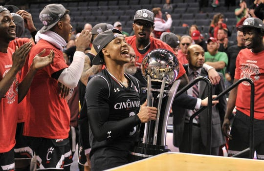 Cincinnati (28-6), No. 7 seed in South, American Athletic Conference champion
