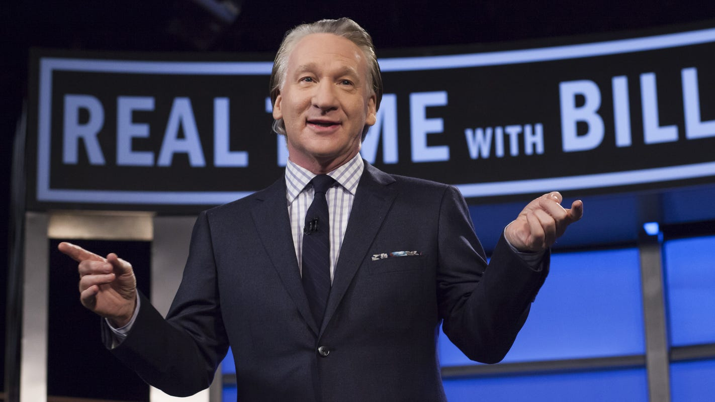 Bill Maher tests positive for COVID, forcing cancellation of Friday 'Real Time' episode