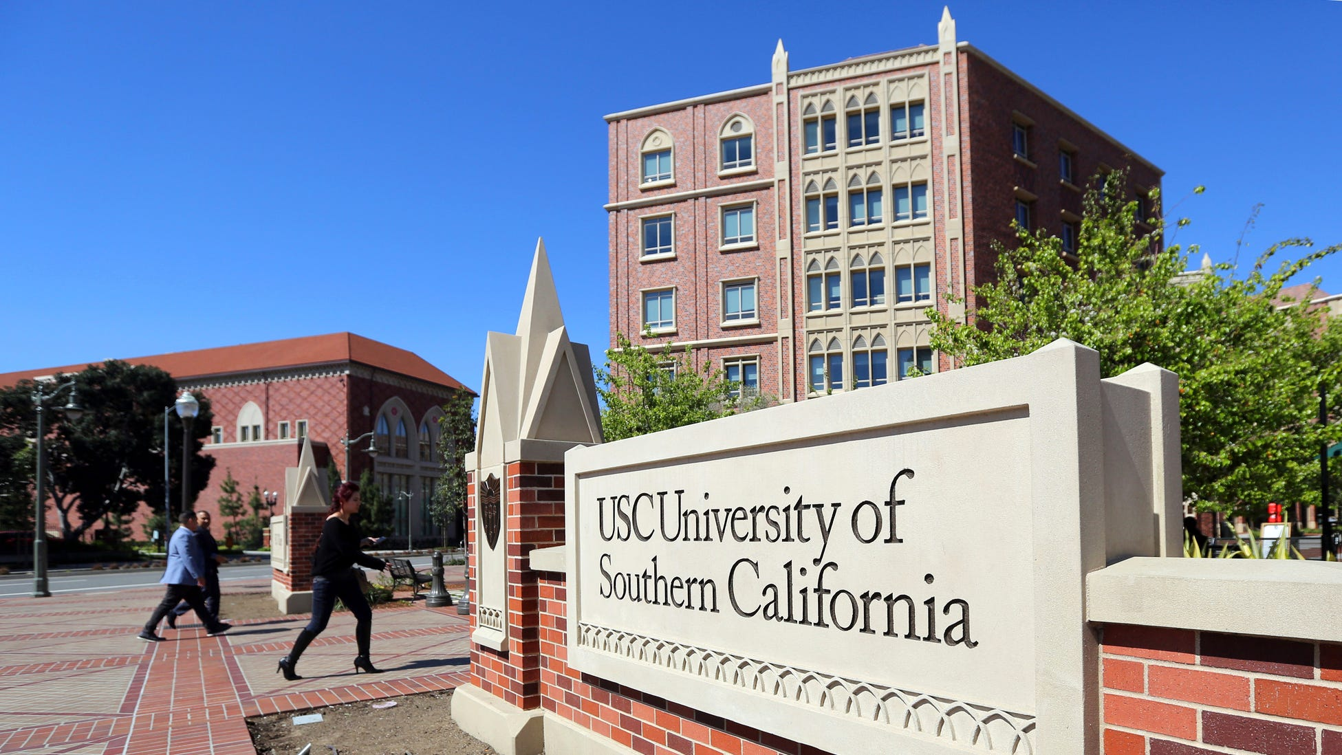 The University of Southern California took several students as part of what prosecutors said was a sweeping conspiracy by wealthy parents to use cheating and bribery to get their children into selective colleges.