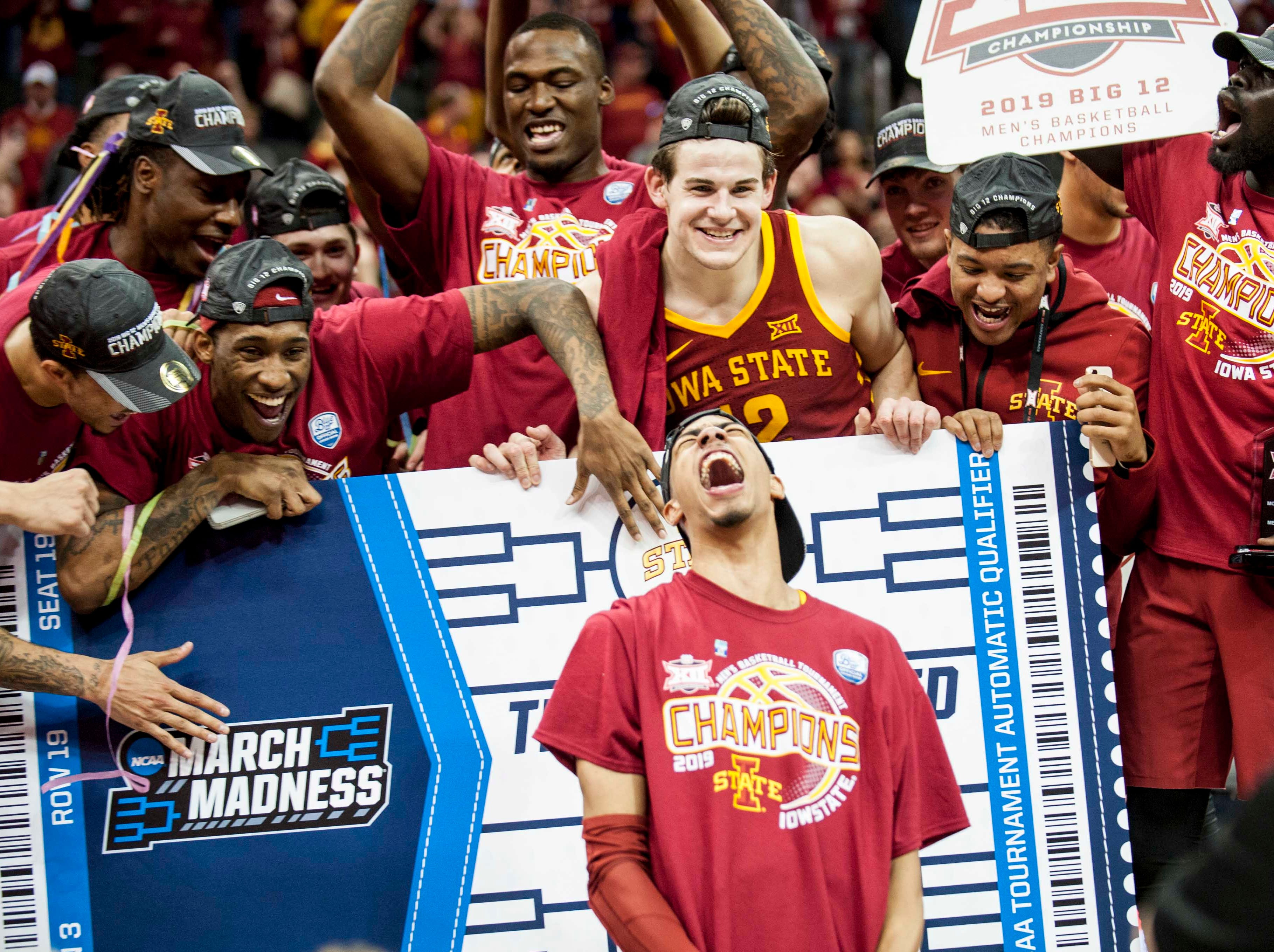 Iowa State (23-11), No. 6 seed in Midwest, Big 12 Conference champion