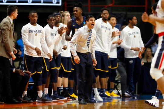UNC-Greensboro coach Wes Miller saw his team just miss as an at-large bid on Selection Sunday after reaching the NCAAs as an auto bid last year.