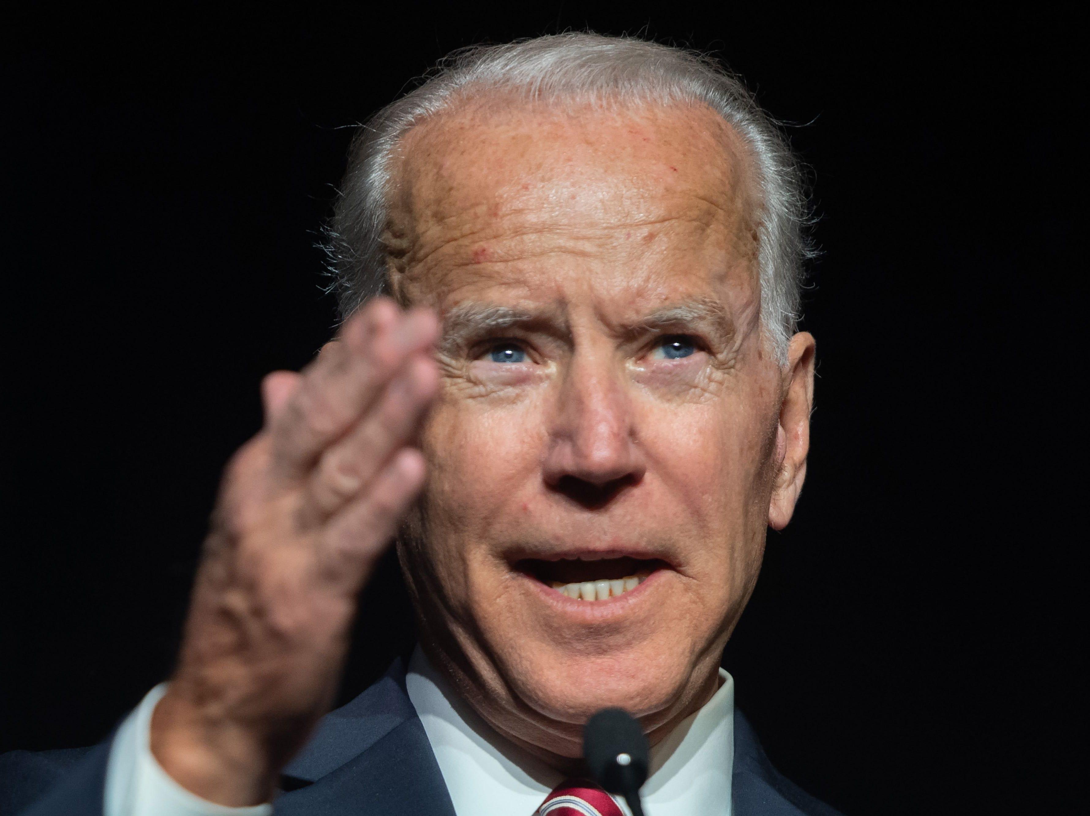 Joe Biden comes close to announcing presidential candidacy, denounces Trump