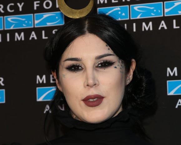 Kat Von D, tired of 'getting a ton of hate,' says in video she's not a neo-Nazi nor anti-vax