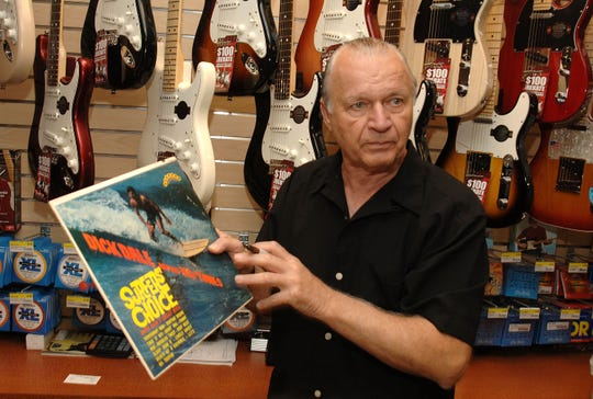Surf Guitarist Dick Dale, 81, died on March 16, 2019. In this photo, Dale attends the 2009 J&R MusicFest at City Hall Park on Aug. 27, 2009, in New York City.