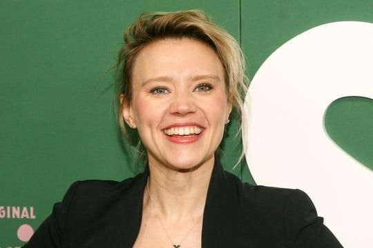 """Saturday Night Live"" breakout Kate McKinnon at the Hulu premiere of ""Shrill"" in March."