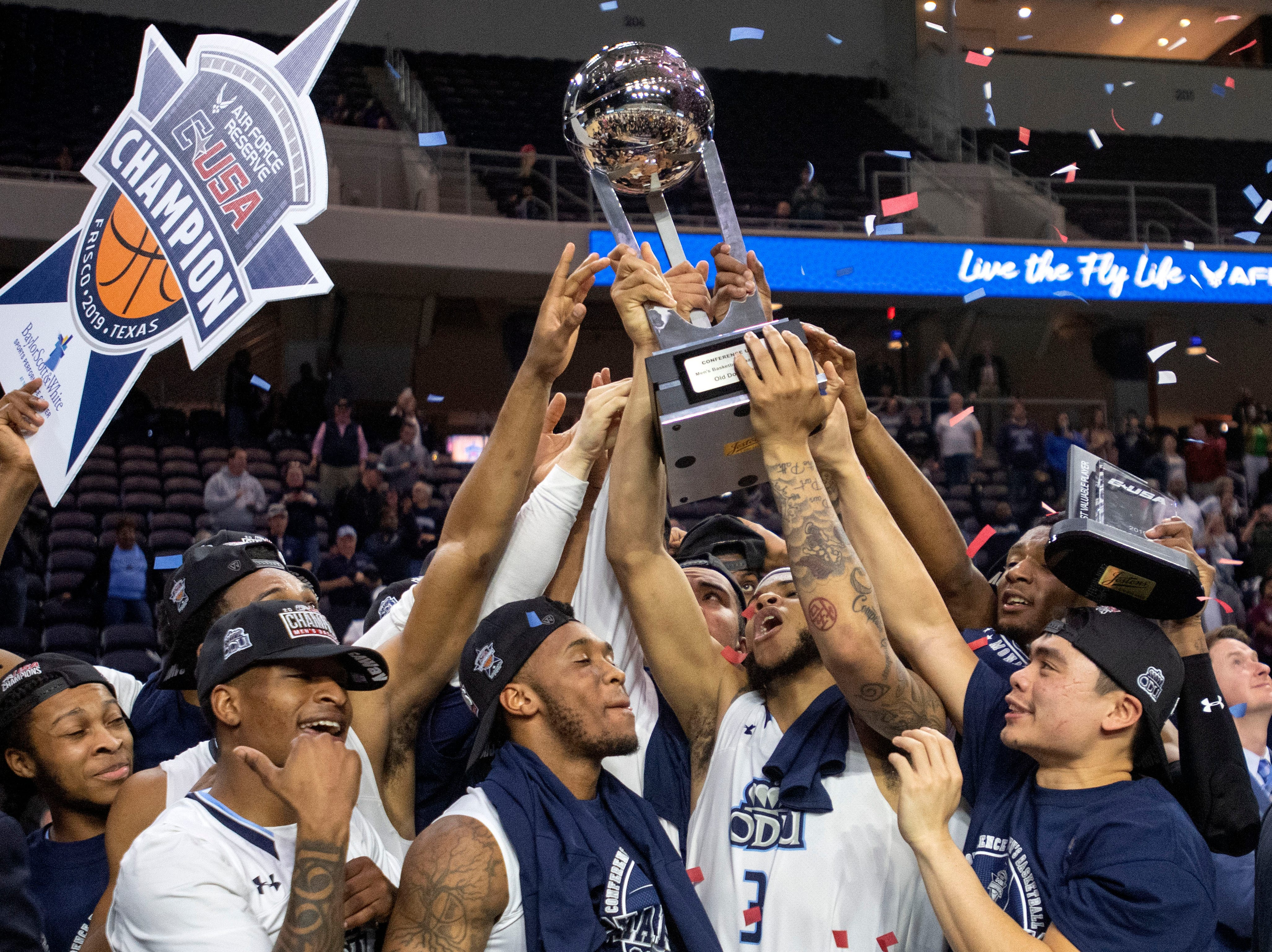 Old Dominion (26-8), No. 14 seed in South, Conference USA champion