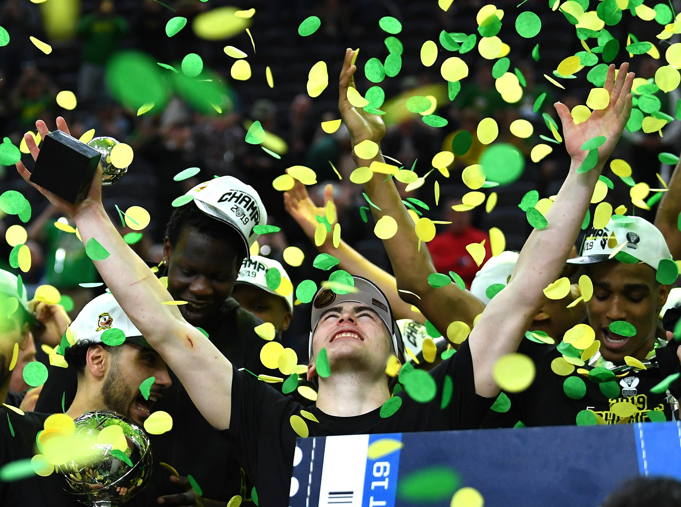 Oregon (23-12), No. 12 seed in South, Pac-12 Conference champion