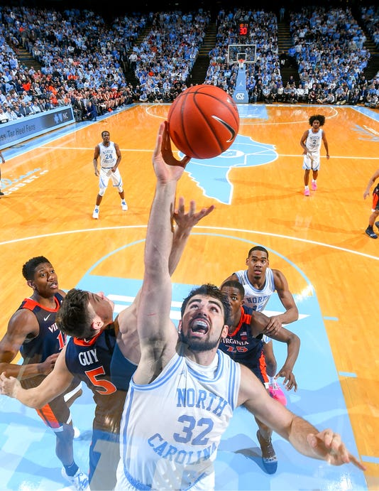 Usp Ncaa Basketball Virginia At North Carolina S Bkc Unc Uva Usa Nc