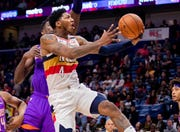 103. Elfrid Payton, Pelicans (March 16): 16 points, 16 assists, 13 rebounds in 138-136 loss to Suns (fifth of season).