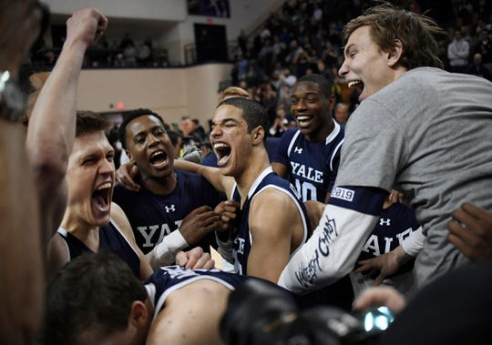 Yale (22-7), No. 14 seed in East, Ivy League champion