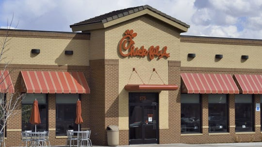 Atlanta-based Chick-fil-A has nearly 2,400 locations in its fast-food chain known for fried chicken sandwiches and waffle fries.