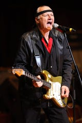 Dick Dale performs at the Musicians Hall of Fame awards show at the Schermerhorn Symphony Center in Nashville, Tenn., on Oct. 12, 2009.