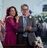 Andie MacDowell and Hugh Grant are back together.