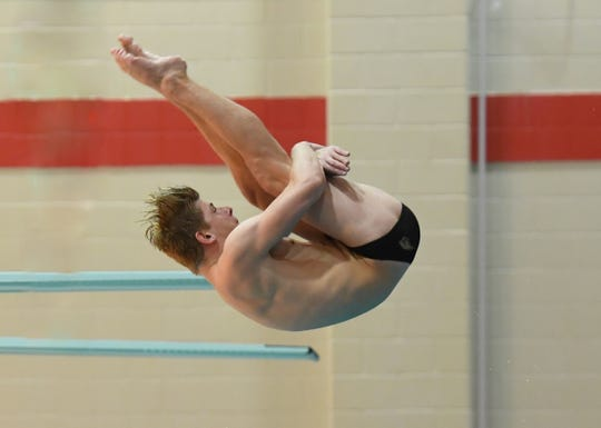 UW-Oshkosh sophomore Matt Wilke, an Appleton native, will compete in the NCAA Division III national championships in diving.