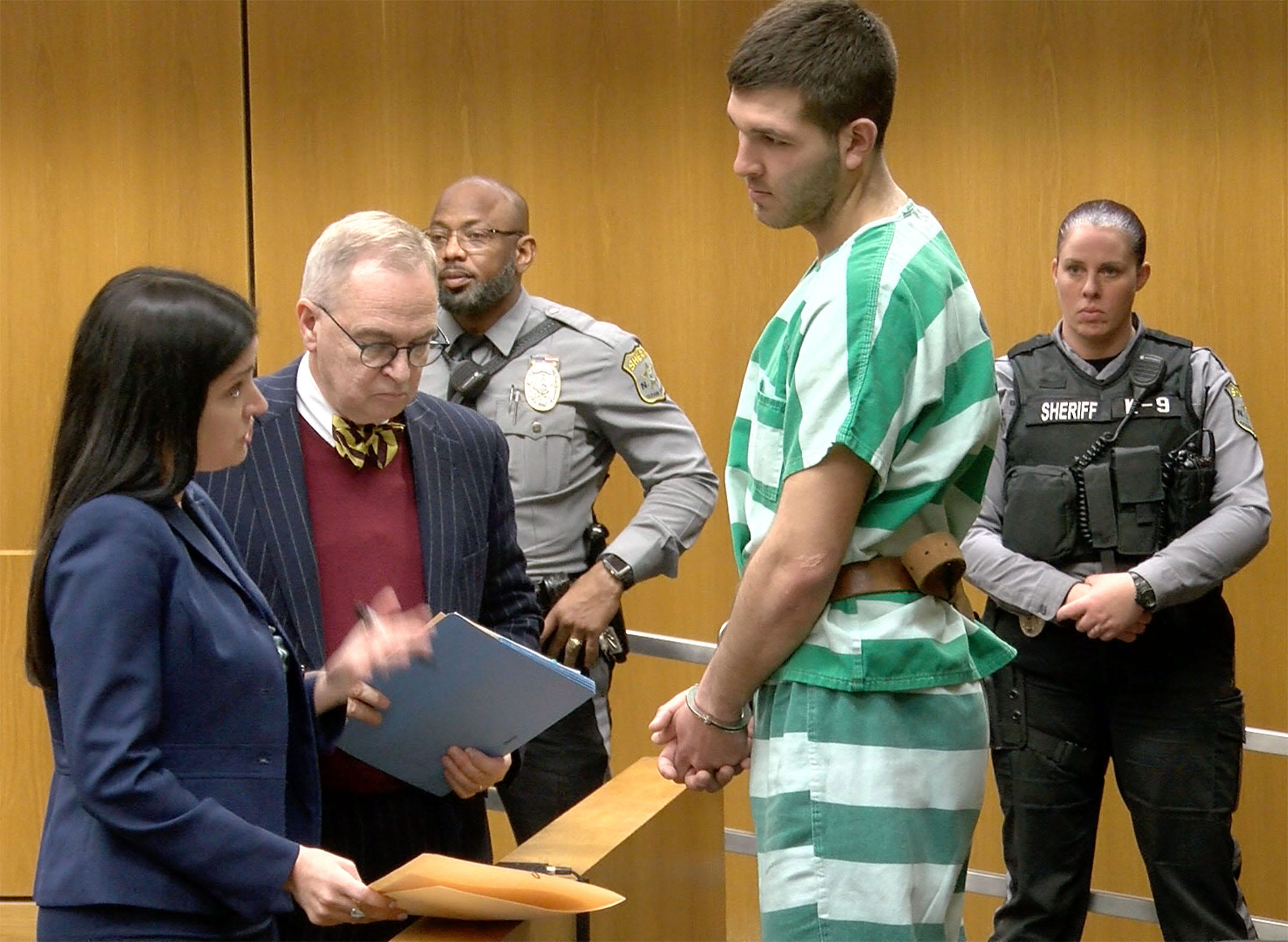 Anthony Comello, suspect in reputed mob boss Frank Cali murder, in court with 'MAGA' on palm