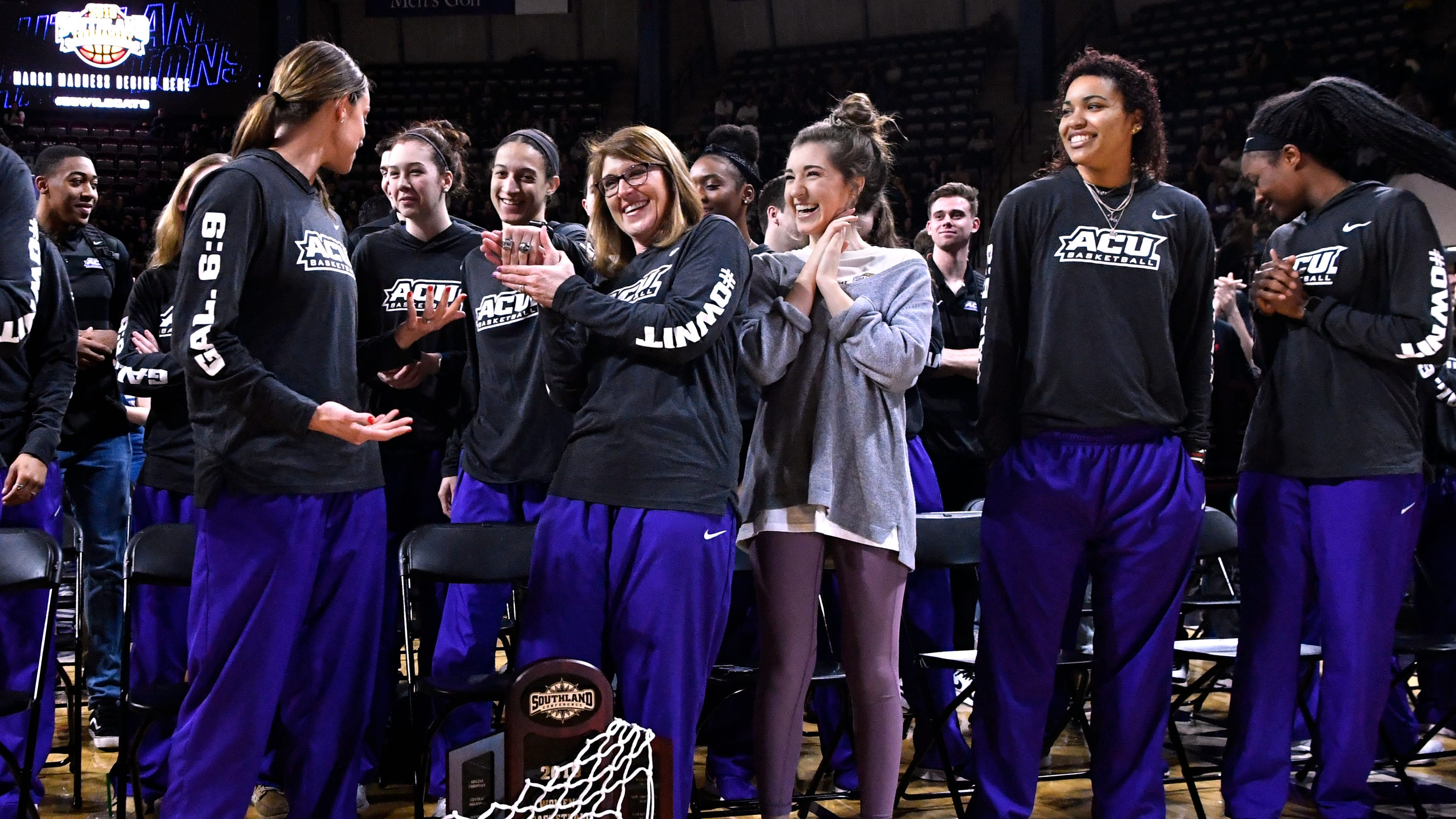 Pride, excitement as Abilene Christian campus enjoys first NCAA March Madness (multiplied by two)