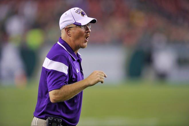 Western Carolina football coach Mark Speir