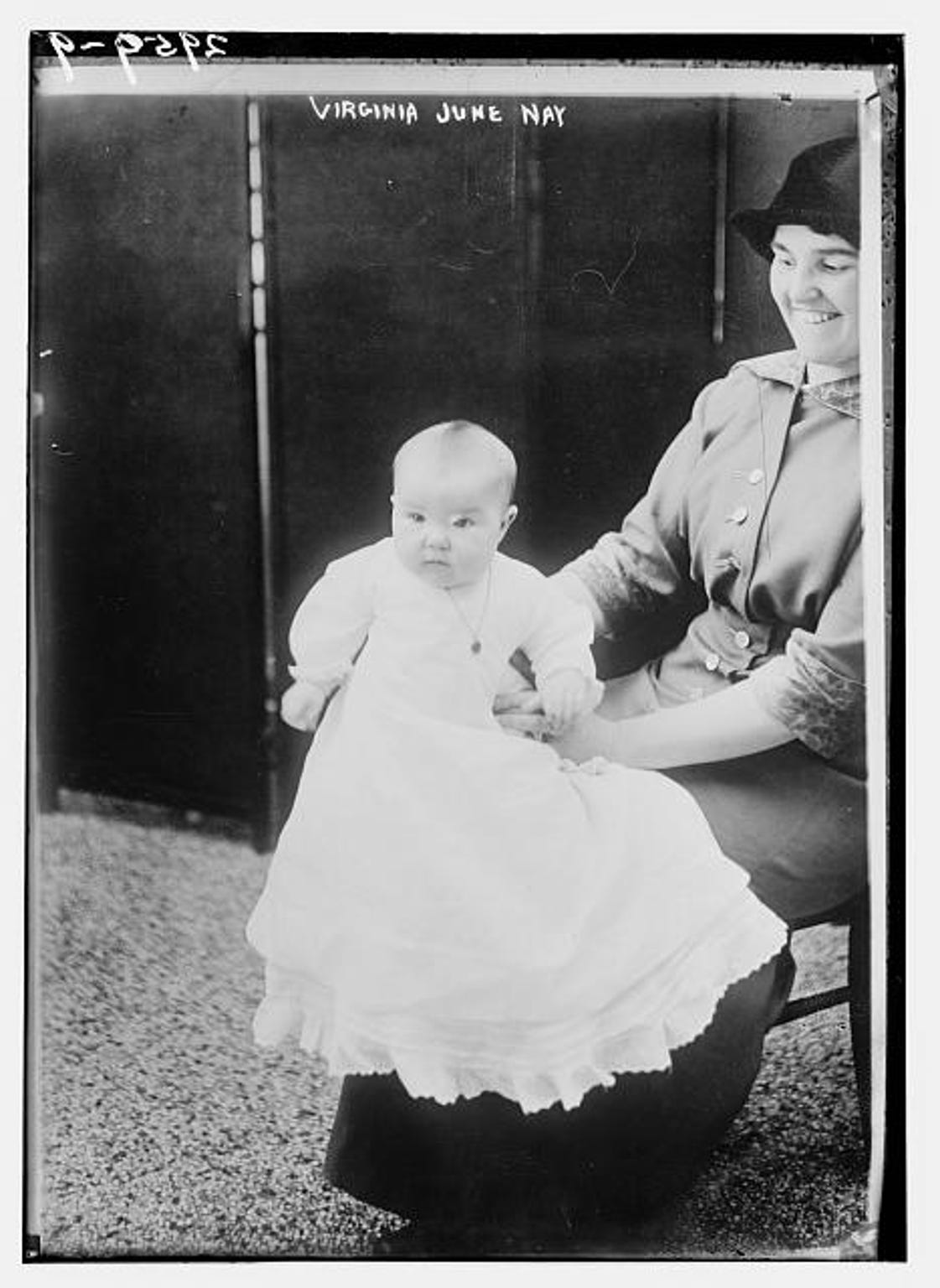 "In this 1914 photo, six-month-old Virginia June Nay was the winner of a ""Better Baby"" contest held in conjunction with the first Race Betterment Conference in Battle Creek."