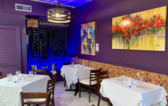 Luna Food & Wine in Cocoa Beach is intimate, understated and elegant.