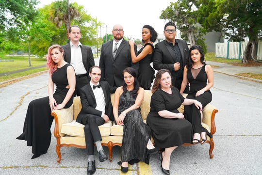 """The cast of """"Sondheim on Sondheim."""" The show, which opened Friday at Titusville Playhouse, moves to Melbourne's Henegar Center this weekend."""