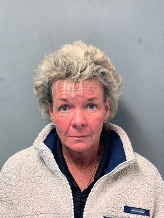 Stacey L. Vaillancourt, 53, of Rutland is seen in this booking photo taken Monday, March 18, 2019.