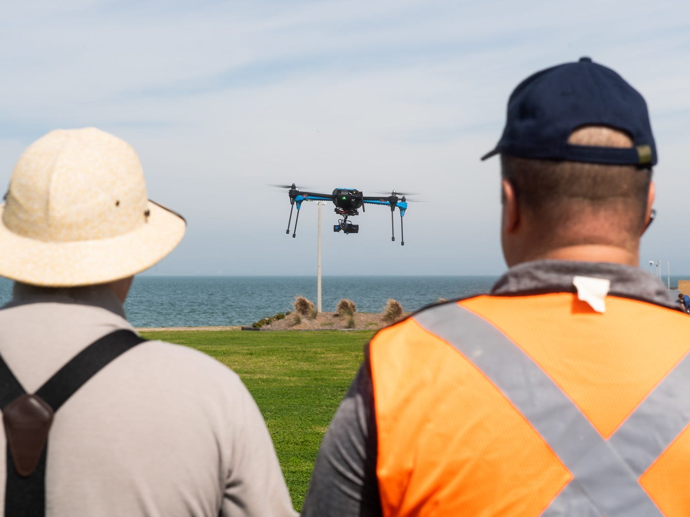 NASA's Unmanned Aircraft Systems Traffic Management (UTM) project selected the Lone Star UAS Center of Excellence & Innovation at Texas A&M University-Corpus Christi to test drone traffic management.