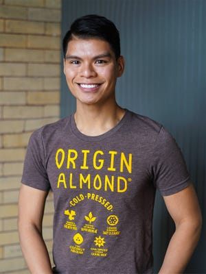 Jake Deleon of Laurel Springs founded Origin Almond in 2016. The company is one of five in the country selected by Kraft Heinz for its  Springboard startup incubation program to help grow new food companies.