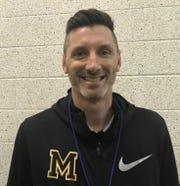 Moorestown boys basketball coach Shawn Anstey