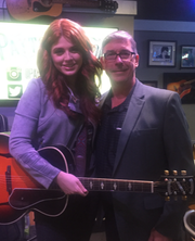 Van Carney, a Voorhees resident and executive with Domino's Pizza, heard Payton Taylor sing at the Nashville International Airport and was sure she'd be a star.